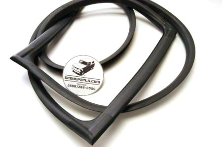 Windshield Seal For 57-68 Pickups, Travelettes, And Travelalls.