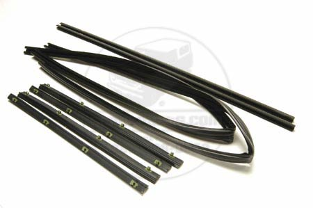 Front Left & Right Roll Up Window Door Seal Kit