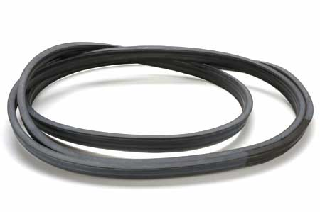 Rear Glass Channel Seal For 1960-1963 Chrysler Imperial And Lebaron 4 Door Hardtops.
