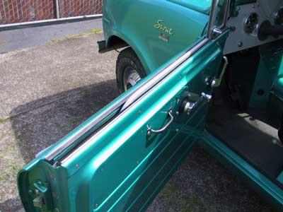 Door Window Kit - Felt And Squeegie (Keeps Water Out Of Door) 1961-71 For Scout 80/800