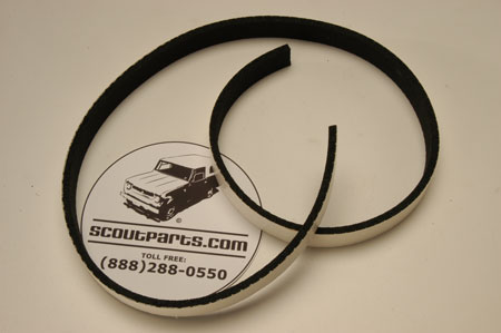 Scout 80/800 Upper Liftgate Seal